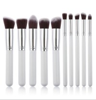 10pc Nylon Synthetic Brush Set