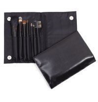 7pc Folder Brush Set - Black