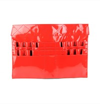 Brush Apron - Patent Red